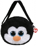 Geanta de umar plus 15 cm Ty Fashion Waddles penguin TY