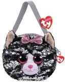 Geanta de umar plus 15 cm Ty Fashion Kiki Cat TY