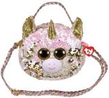 Geanta de umar plus 15 cm Ty Fashion Fantasia Unicorn TY