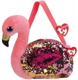 Geanta de umar plus 15 cm Ty Fashion Gilda Flamingo TY