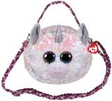 Geanta de umar plus 15 cm Ty Fashion Diamond Unicorn TY