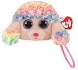 Poseta plus 10 cm Ty Gear Rainbow multicolor poodle TY