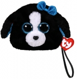 Poseta plus 10 cm Ty Gear Tracey black/white dog TY