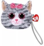 Poseta plus 10 cm Ty Gear Kiki grey cat TY