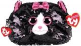 Poseta plus 10 cm Ty Fashion Kiki Cat TY