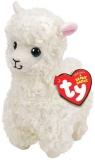 Jucarie plus 24 cm Beanie Boos Lily Cream Llama TY