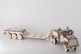 Camion cu Trailer din lemn