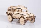 Jeep din lemn