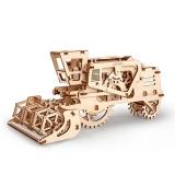 Puzzle 3D, lemn, mecanic Combina agricola, 154 piese, Ugears