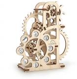 Puzzle 3D, lemn, mecanic Dinamometru, 48 piese, Ugears
