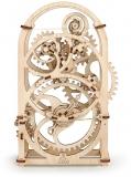 Puzzle 3D, lemn, mecanic 20 min Timer, 107 piese, Ugears