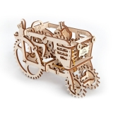 Puzzle 3D, lemn, mecanic Tractor, 97 piese, Ugears