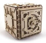 Puzzle 3D, lemn, mecanic Seif, 179 piese, Ugears