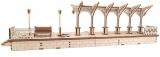 Puzzle 3D, lemn, mecanic Peron, 196 piese, Ugears