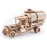 Puzzle 3D, lemn, mecanic Camion UGM-11 Cisterna, 594 piese, Ugears