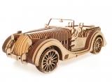 Puzzle 3D, lemn, mecanic Roadster, 437 piese, Ugears