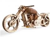 Puzzle 3D, lemn, mecanic Motocicleta VM-02, 189 piese, Ugears