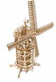 Puzzle 3D, lemn, mecanic Moara de Vant, 585 piese, Ugears