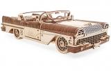 Puzzle 3D, lemn, mecanic Dream Cabriolet, 739 piese, Ugears