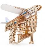 Puzzle 3D, lemn, mecanic  Flight Starter, 198 piese, Ugears