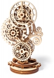 Puzzle 3D, lemn, mecanic Ceas Steampunk, 43 piese, Ugears
