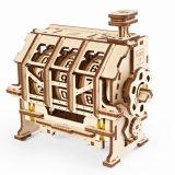 Puzzle 3D, lemn, mecanic Model STEM Contor de parcurs, 157 piese, Ugears