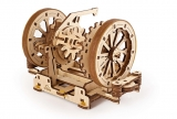 Puzzle 3D, lemn, mecanic Model STEM Diferentialul, 163 piese, Ugears