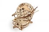 Puzzle 3D, lemn, mecanic Glob pamantesc, 184 piese, Ugears