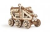 Puzzle 3D, lemn, mecanic Model Mars Buggy, 95 piese, Ugears