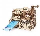 Puzzle 3D, lemn, mecanic Model Casa de marcat, 405 piese, Ugears