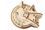 Puzzle 3D, lemn, mecanic STEM LAB Curbimetru, 109 piese, Ugears