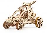 Puzzle 3D, lemn, mecanic Mini Buggy, 80 piese, Ugears