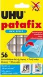 Tablete de adeziv transparente 56 bucati Patafix Invisible UHU