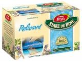 Ceai Relaxant 20 plicuri/cutie Stare de bine Fares