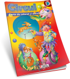 Carte de colorat si activitati circul