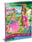 Carte de colorat A4 Fete