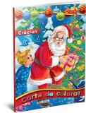 Carte de colorat A4 Mos Craciun