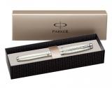 Stilou Urban Premium Pearl Metal Chiselled penita F Parker