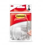 Carlige plastic sustinere mici 2/set Command 3M