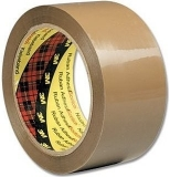 Banda ambalare 50 mm x 66 m maro Scotch 3M