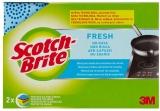 Burete delicat protectie unghii Fresh, 2 buc/set Scotch-Brite