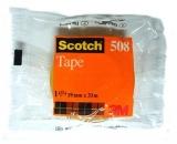 Banda adeziva clasica, 19 mm x 33 m, ambalata individual, Scotch 3M