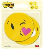 Notite adezive 70 x 70 mm, 2 x 30 buc/set Post-it® Face designs 3M