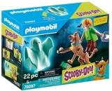 Scooby-Doo!Scooby&Shaggy Cu Fantoma Playmobil