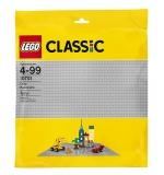 Placa de baza gri 10701 LEGO Classic