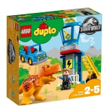Jurassic World - Turnul T Rex 10880 LEGO Duplo