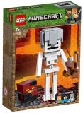 Schelet Minecraft BigFig cu cub de magma 21150 LEGO Minecraft