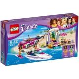 Barca transportoare cu motor a Andreei 41316 LEGO Friends