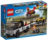 Echipa de curse pe ATV 60148 LEGO City Great Vehicles