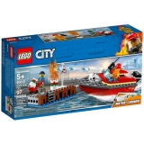 Incendiul de la docuri 60213 LEGO City